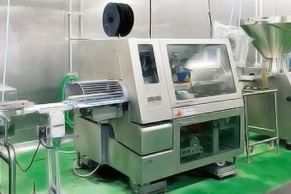 ハム製造機械の写真